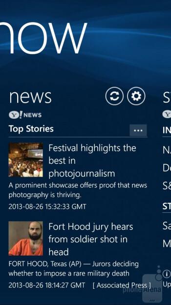 Interface of the Samsung ATIV S Neo - Samsung ATIV S Neo Review