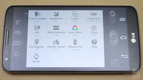LG G2 Camera UI