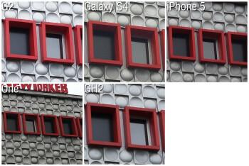 100% Crops - Camera Comparison: LG G2 vs Samsung Galaxy S4, iPhone 5, HTC One