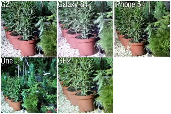 100% Crop - Camera Comparison: LG G2 vs Samsung Galaxy S4, iPhone 5, HTC One
