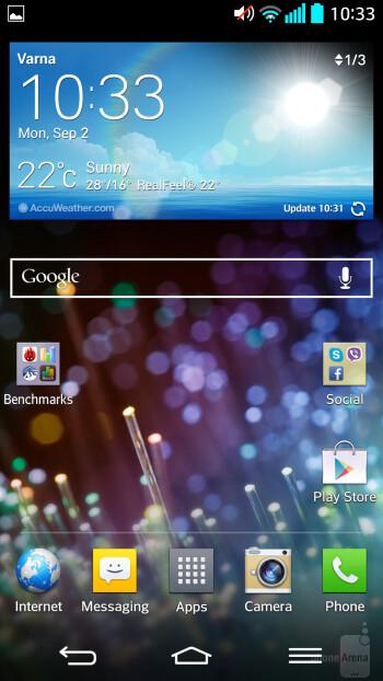 LG G2 - LG G2 vs Samsung Galaxy S4