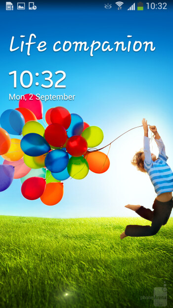 Samsung Galaxy S4 - Both devices run on Android 4.2.2 Jelly Bean with LG and Samsung's custom skins on top. - LG G2 vs Samsung Galaxy S4