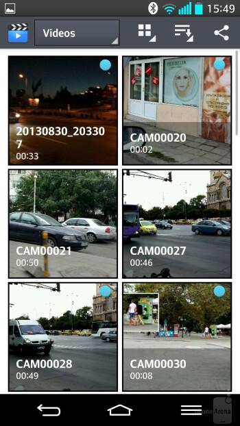 LG G2 - Video players - LG G2 vs HTC One