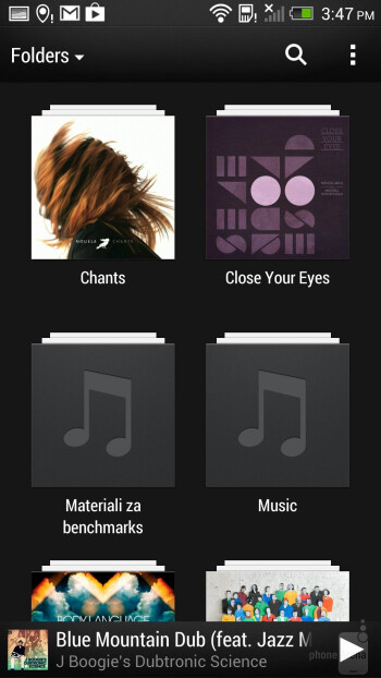 HTC One - Music players - LG G2 vs HTC One