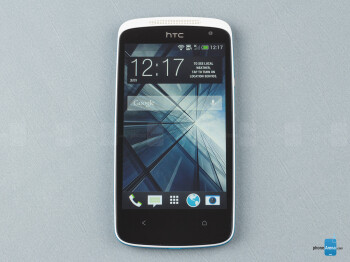 Front - HTC Desire 500 Review