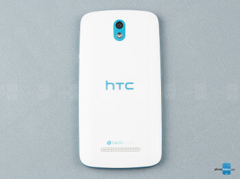 Back - The sides of the HTC Desire 500 - HTC Desire 500 Review