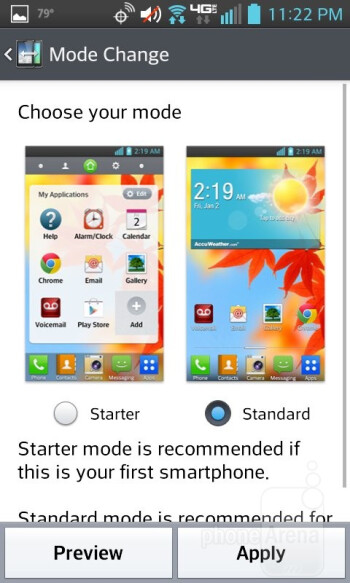 Nestled within the LG Enact is the Android 4.1.2 Jelly Bean, with the Optimus UI layered on top - LG Enact Review