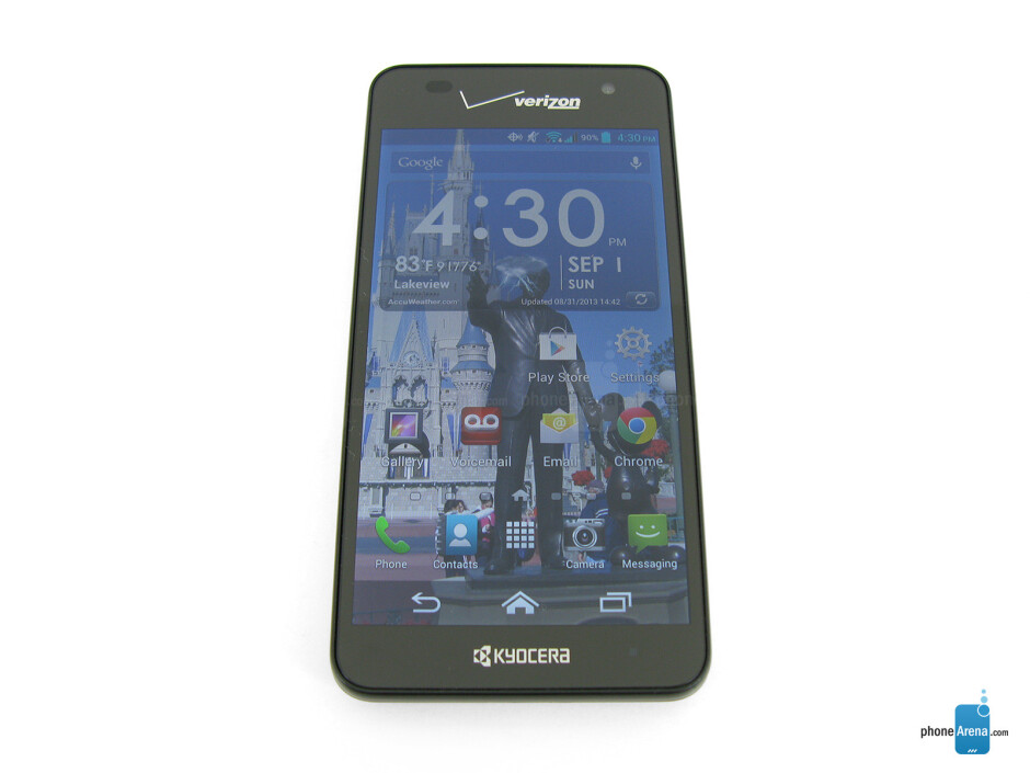 Front - Kyocera Hydro Elite Review