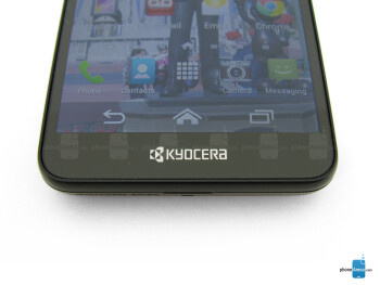 On-screen Android buttons - Kyocera Hydro Elite Review