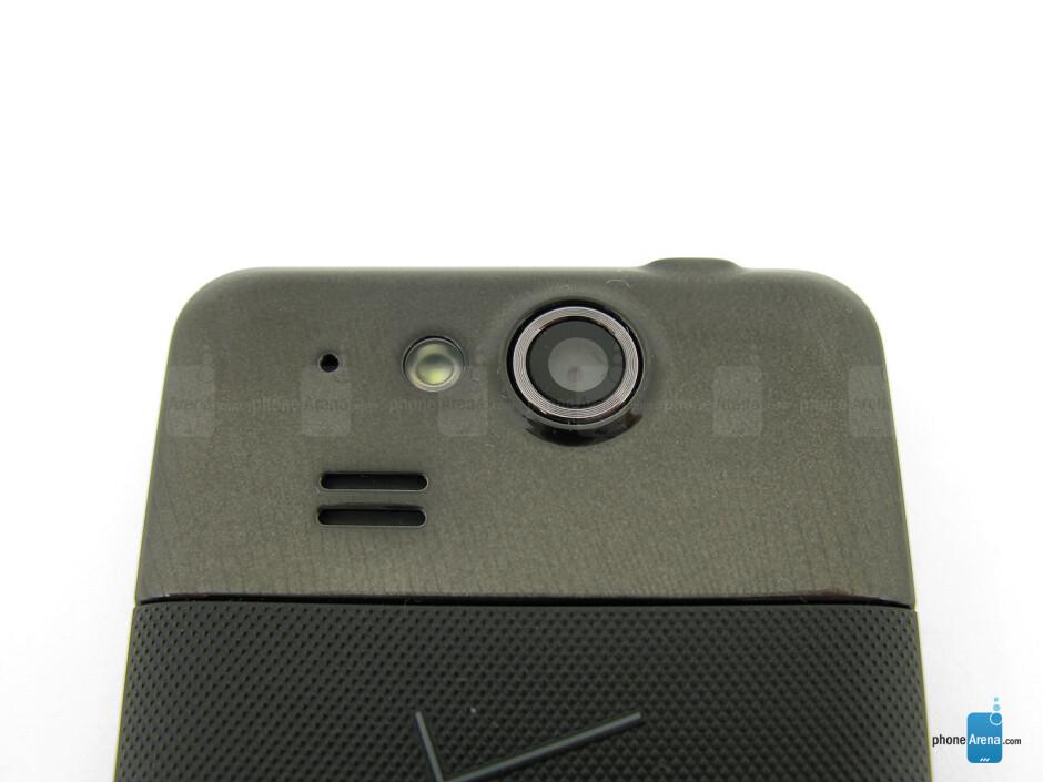 Rear camera - Kyocera Hydro Elite Review