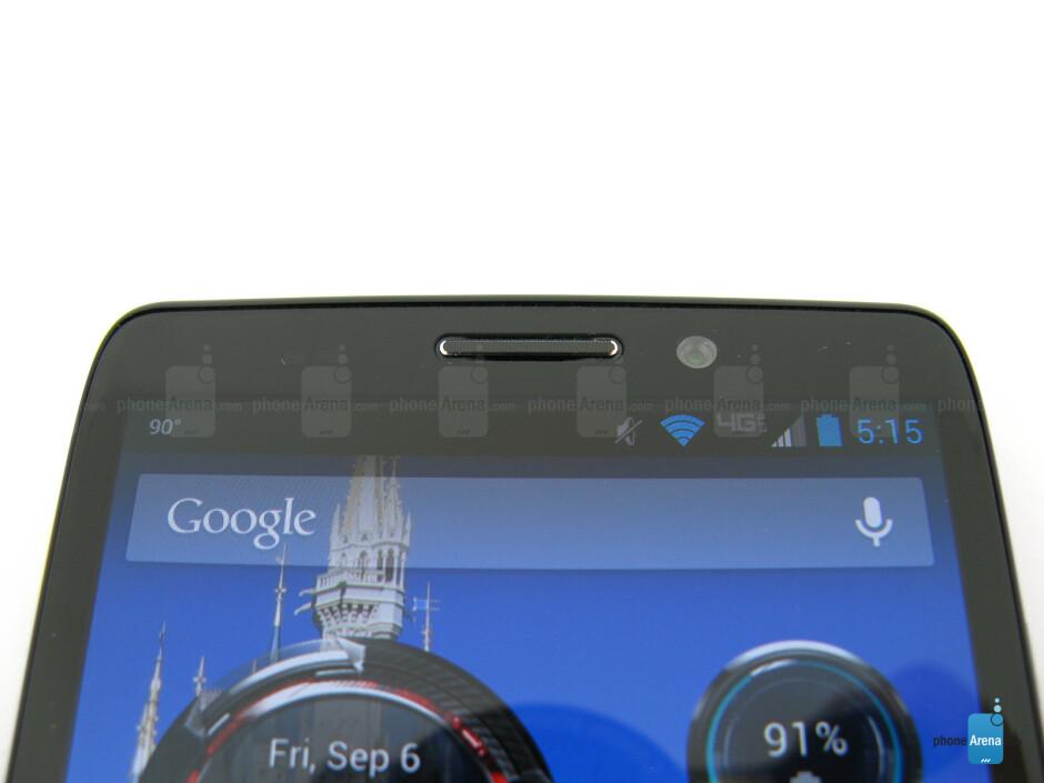 Front camera - Motorola DROID MAXX Review