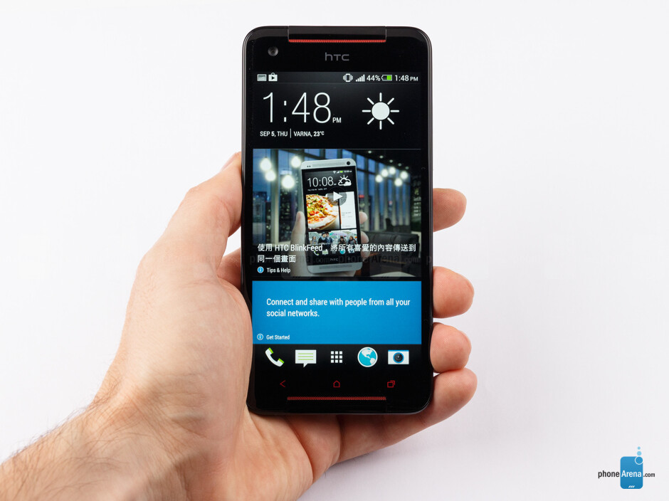 The body material of the HTC Butterfly S feels very soft and actually good to touch - HTC Butterfly S Review