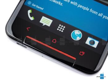 Android buttons - HTC Butterfly S Review