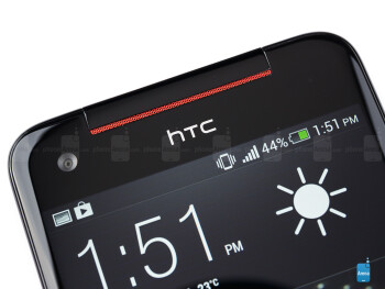 Front camera - HTC Butterfly S Review