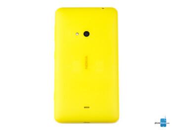 Back - Nokia Lumia 625 Review
