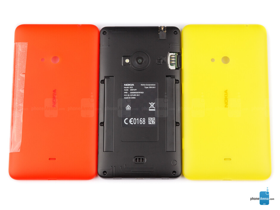 Back covers - Nokia Lumia 625 Review