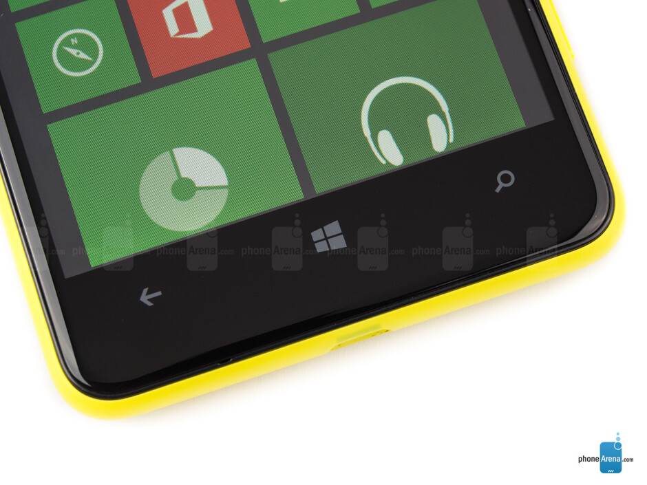 Windows keys - Nokia Lumia 625 Review