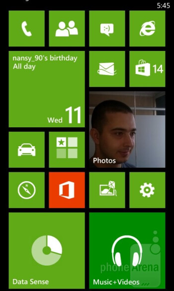 The Nokia Lumia 625 runs on Windows Phone 8 GDR2 with the Amber update - Nokia Lumia 625 Review