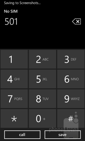 Dialer - Nokia Lumia 625 Review