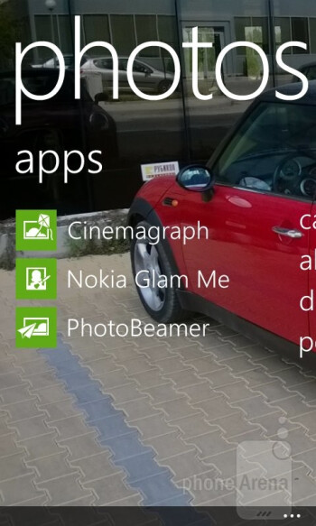 Multimedia apps on the Nokia Lumia 625 - Nokia Lumia 625 Review
