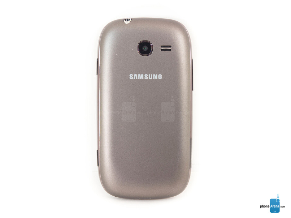 Back - The sides of the Samsung Gravity Q - Samsung Gravity Q Review