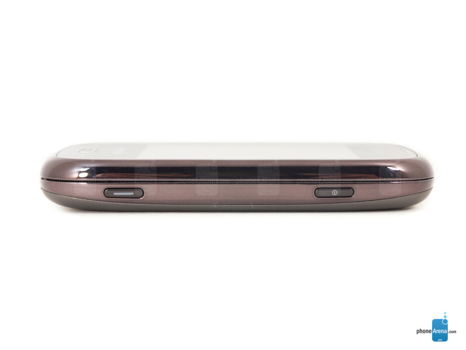 Right - The sides of the Samsung Gravity Q - Samsung Gravity Q Review
