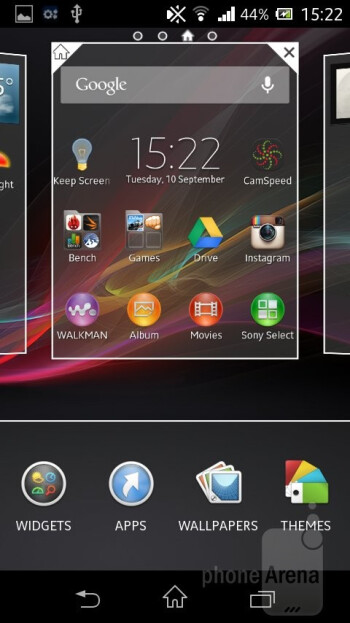 The Sony Xperia M runs on Android 4.1 Jelly Bean with Sony's own skin on top - Sony Xperia M Review