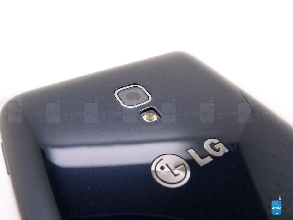 Rear camera - LG Optimus F6 Review