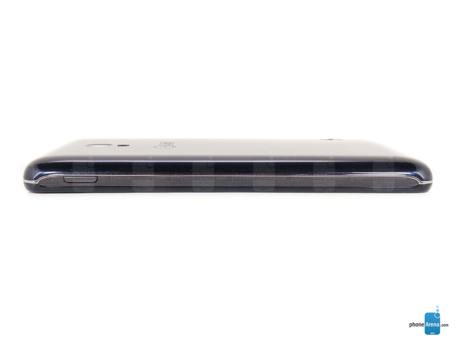 Right - The sides of the LG Optimus F6 - LG Optimus F6 Review