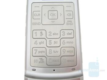 Keypad - LG VX8700 Review