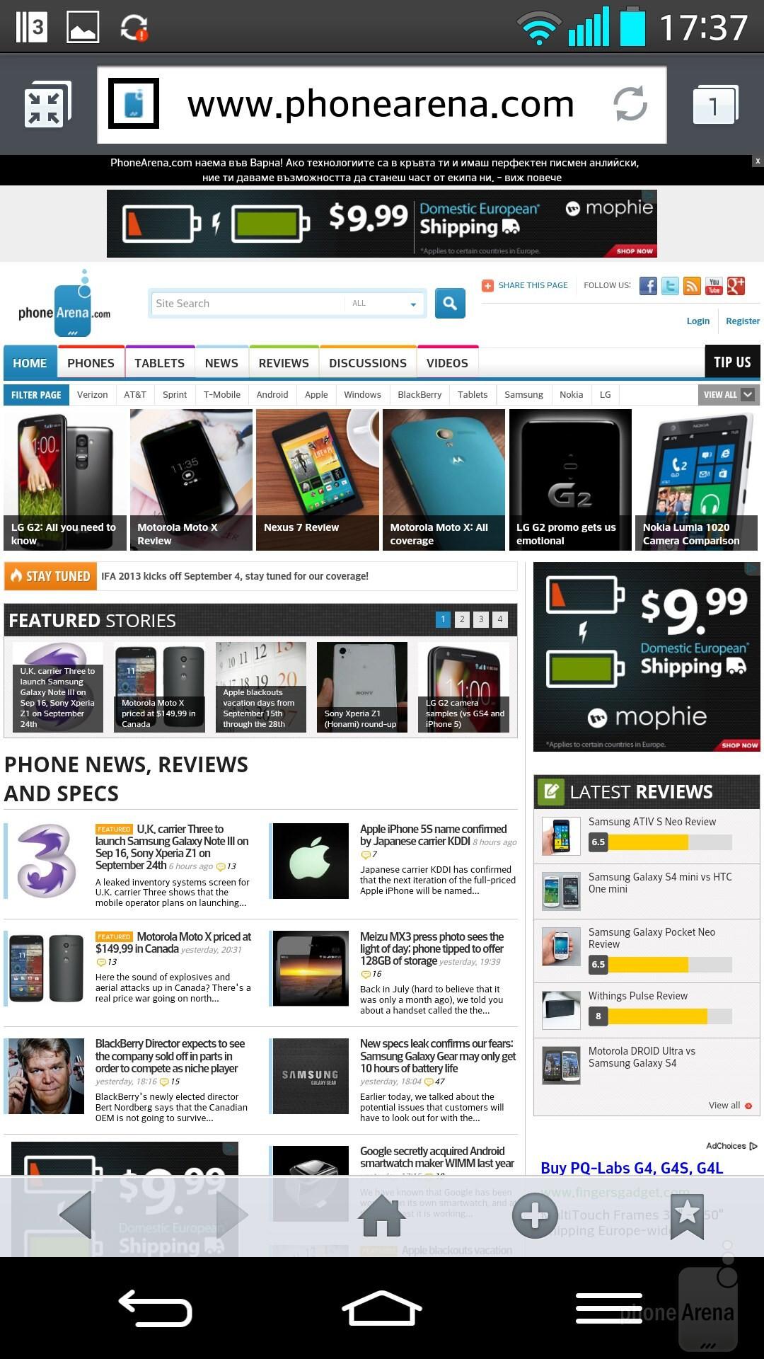 Nokia <a  data-cke-saved-href=?tag=lumia-1020 href=?tag=lumia-1020>Lumia 1020</a> & <a  data-cke-saved-href=?tag=lg href=?tag=lg>LG</a> g2 Web
