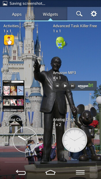 Interface of the LG G2 - Motorola DROID Ultra vs LG G2