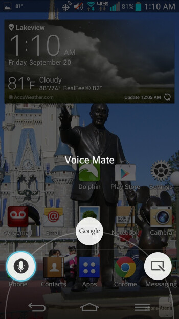 LG G2's Voice Mate feature - Motorola DROID Ultra vs LG G2