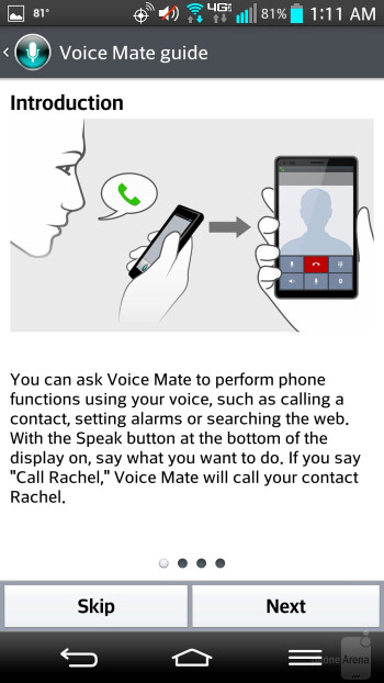 LG G2's Voice Mate feature - Motorola DROID Ultra vs LG G2