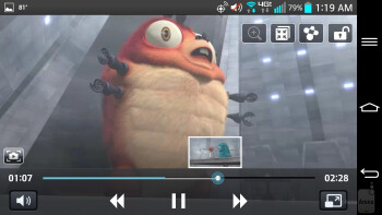 LG G2 - Video playback - Motorola DROID Ultra vs LG G2