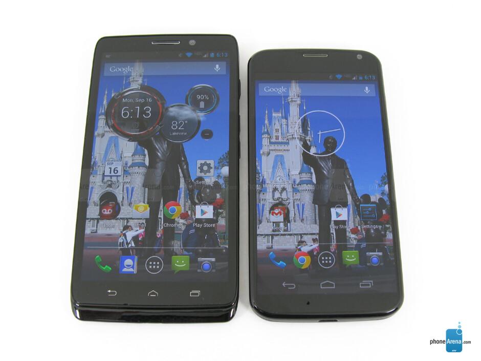 Motorola DROID Ultra vs Motorola Moto X