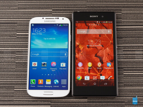 Sony Xperia Z1 vs Samsung Galaxy S4