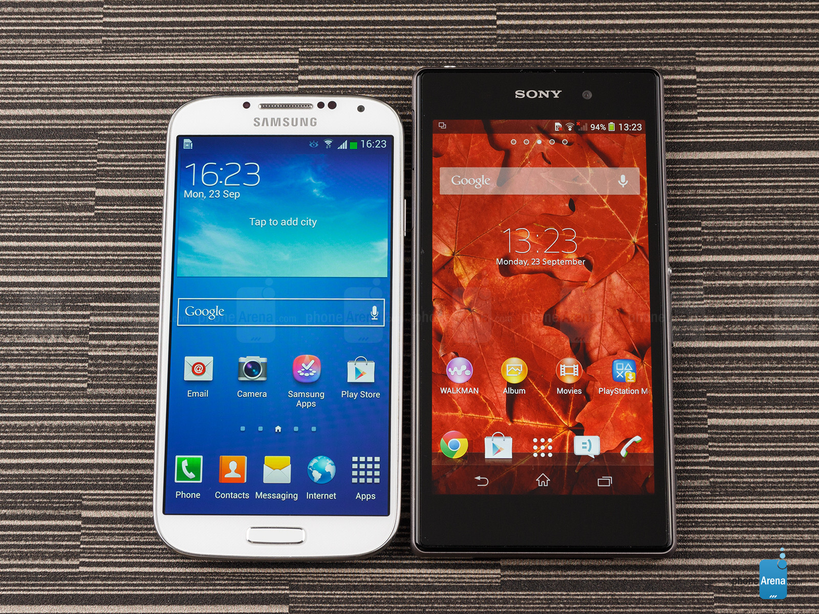 http://i-cdn.phonearena.com/images/reviews/140921-image/Sony-Xperia-Z1-vs-Samsung-Galaxy-S4-01.jpg
