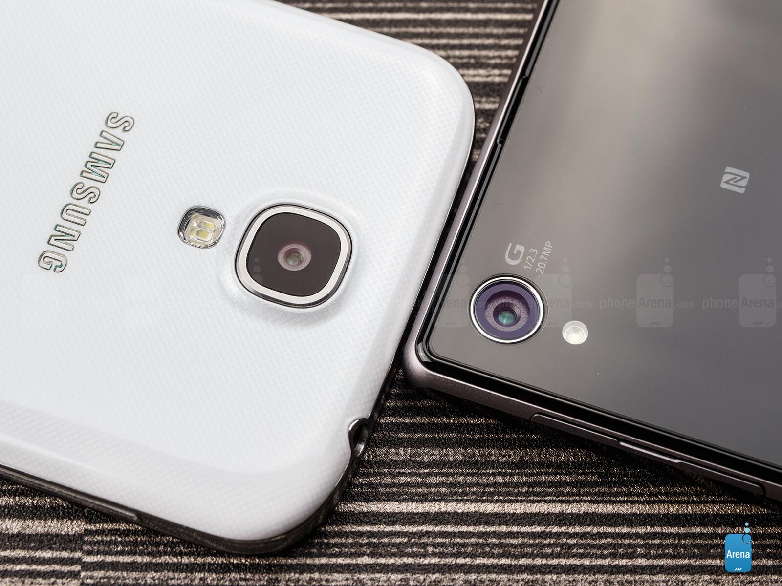 Xperia Z Vs Galaxy S4 Vs Iphone 5 Sony Xperia Z1 vs Sams...