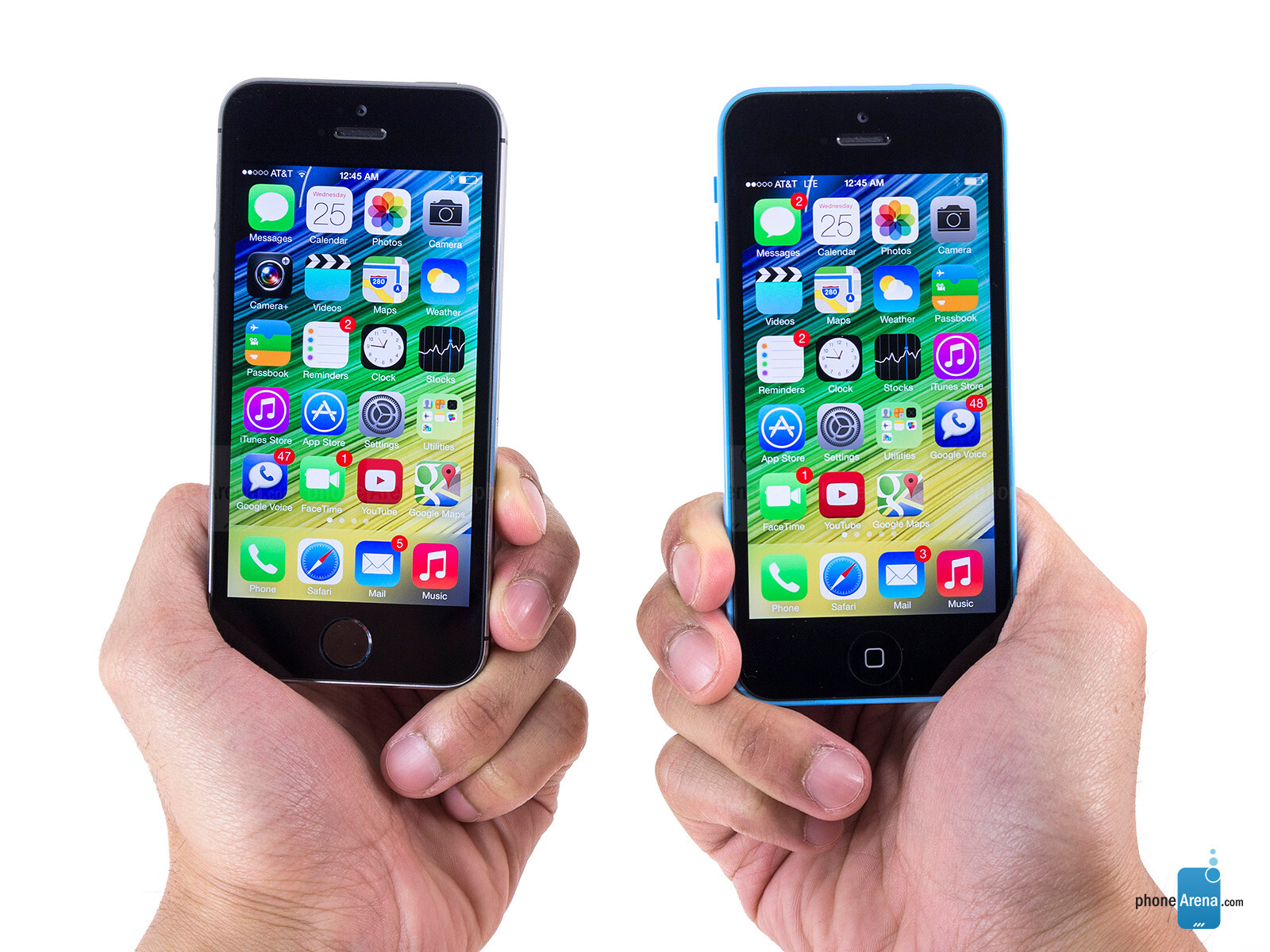 apple iphone 5c vs apple iphone 5s