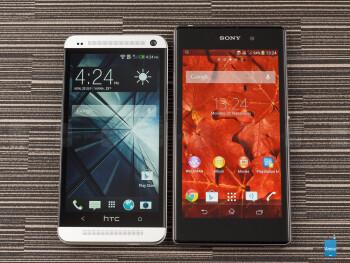 Sony Xperia Z1 vs HTC One