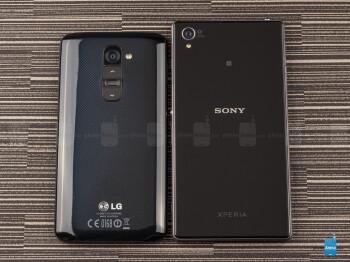 Sony Xperia Z1 vs LG G2