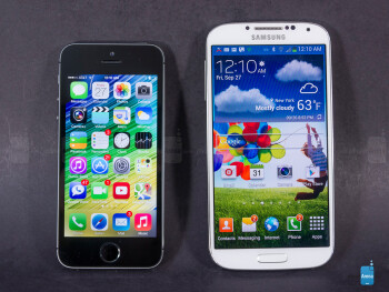 Apple iPhone 5s vs Samsung Galaxy S4