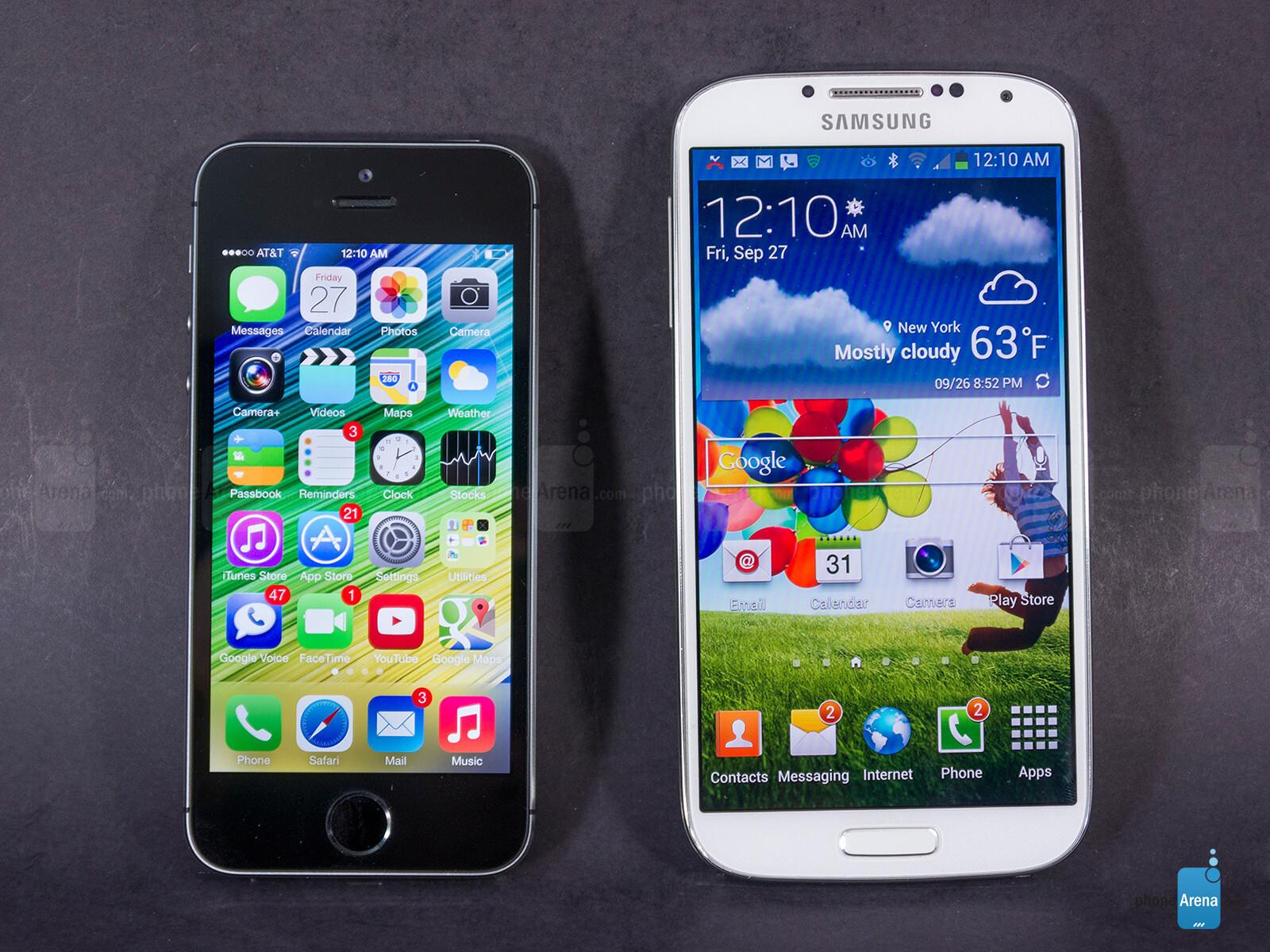 4s Showroom Definition Apple Iphone S Vs Samsung Galaxy S