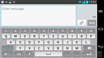 On-screen keyboards - Samsung Galaxy Note 3 vs LG G2