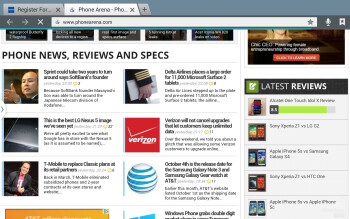 Web browsing with the Samsung Galaxy Note 10.1 (2014 Edition) - Samsung Galaxy Note 10.1 (2014 Edition) Review