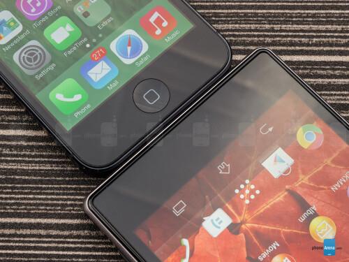 Sony Xperia Z1 vs Apple iPhone 5