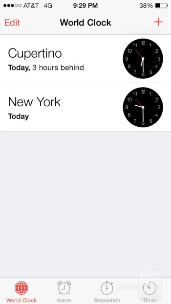 Organizer apps on the Apple iPhone 5s - Apple iPhone 5s vs Motorola Moto X