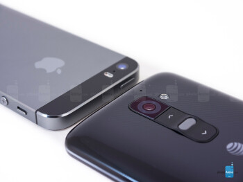 Apple iPhone 5s vs LG G2