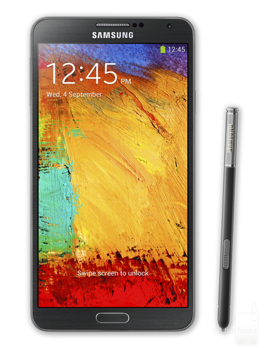 Galaxy Note 3 - Screen comparison: Galaxy Note 3 vs iPhone 5s and other flagships